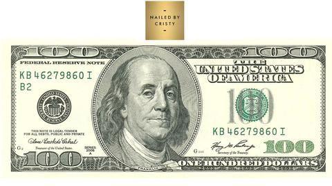 Decals 100 Dollar Bill Nailedbycristy In 2020 100 Dollar Bill Dollar Bill Nail Decals