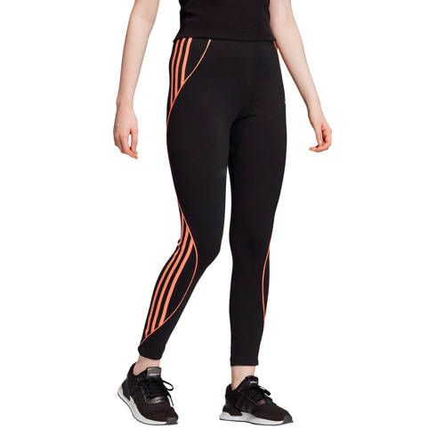Legging zwart/oranje in 2020 - Adidas originals, Leggings en ...