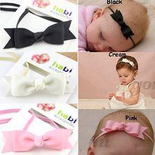 Novo 2015 moda bebê laço de fita menina headband bonito cabelo das meninas da borboleta desgaste do bebê e crianças bandas de cabeça crianças acessórios(China (Mainland))