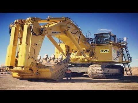 5 Heavy Dangerous Excavator Modern Biggest Construction Action Youtube Heavy Equipment Construction Equipment Heavy Construction Equipment
