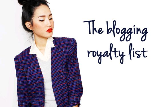 2threads Guide to Fashion Blogging Royalty