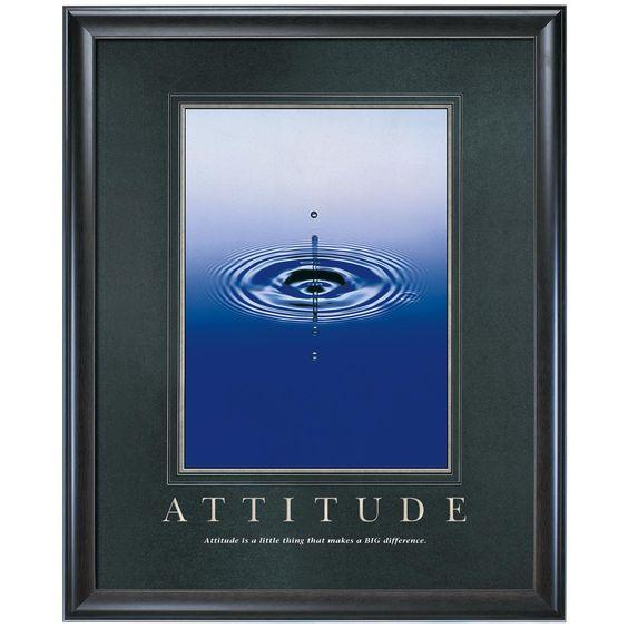 Classic Motivational Poster #attitude