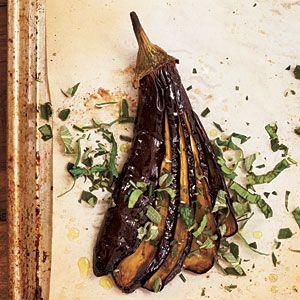 Roasted Eggplants with Herbs | Recipe | Eggplants, Herbs and Basil