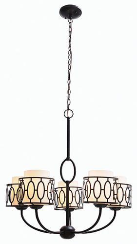 5 light chandelier Bronze and Indoor on Pinterest