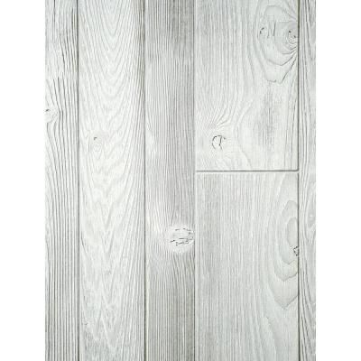 Unbranded Timeline Wood 11 32 In X 5 5 In X 47 5 In Distressed White Wood Panels 6 Pack 00955 The Home Depot Wall Paneling Wood Panel Walls White Wall Paneling