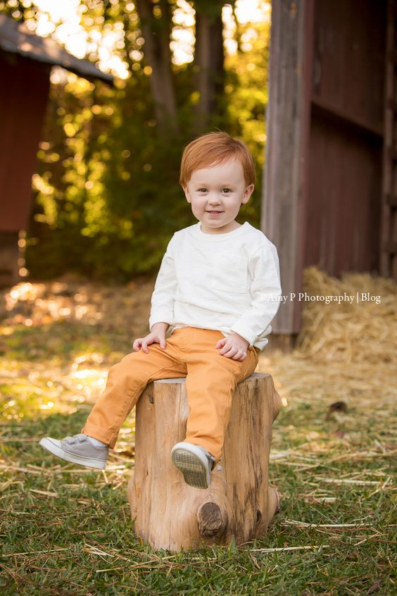 He had the perfect fall outfits! I love the outdoor fall sessions! His family's photoshoot was a blast! We were celebrating his 1  year birthday!