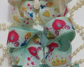 Laço Boutique Básico Cinderela Baby