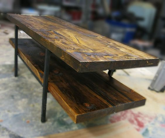 Build a table from old barn wood