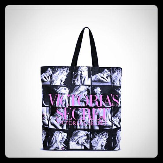 "BOMBSHELL TOTE 21.6"" L x 6.89"" W x 17.12"" H Victoria's Secret Bags Totes"