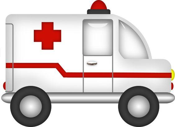 Ambulance clipart  jza3VuD8QVhYo - Minus | imagenes chicos | Pinterest | Ambulance ...