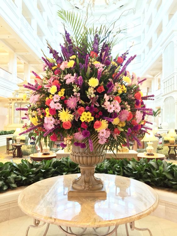 Florals at Grand Floridian