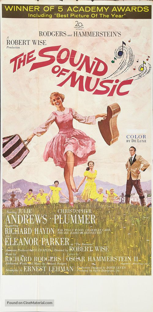 High Resolution Movie Poster Image For The Sound Of Music Sound Of Music Movie Sound Of Music Musical Movies