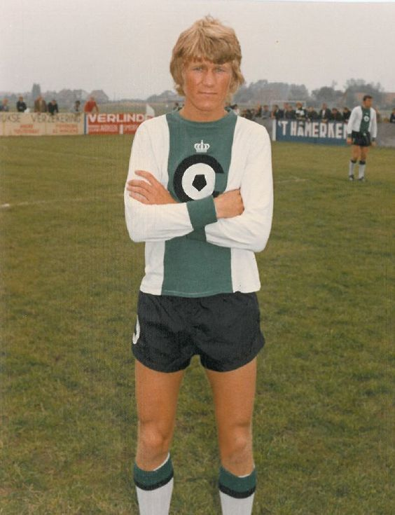 """""""It was the time of former Danish star Morten Olsen, who was voted as Danish football player of the year twice in his career. He played four seasons for Groen-Zwart, besides his part time job in the butcher's shop of Jeanne Duplessis."""""""