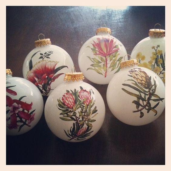Australian Christmas, Christmas Decorations And Christmas