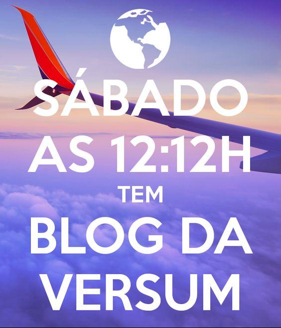 'SÁBADO AS 12:12H TEM BLOG DA VERSUM' Poster