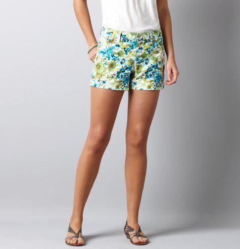 Ann Taylor LOFT, Floral Print Shorts, $44.50
