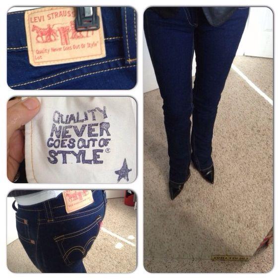 Levi's type 1 women's jeans