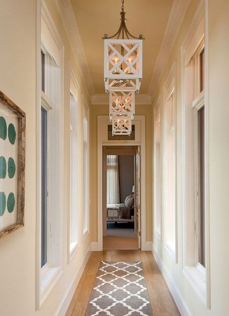 A Single Pendant Light Is Perfect For Lighting Up A Small Passage Or Hallway But Add More Lights Of Hallway Designs Narrow Hallway Decorating Hallway Lighting