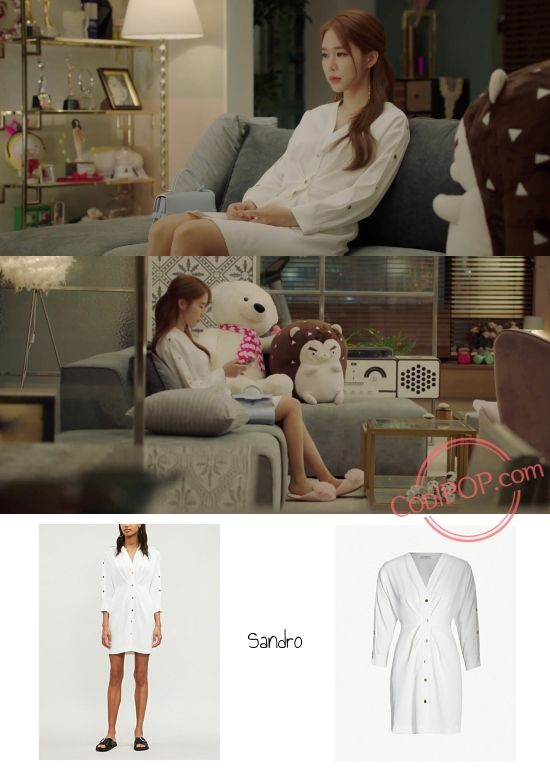 Yoo In Na S Fashion In K Drama Touch Your Heart Episode 13 In