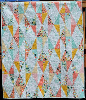 Riley Blake Designs Blog: Project Design Team Wednesday ~ Diamond Drop Quilt