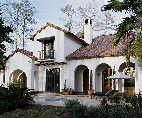 Mediterranean style home ideas pinterest home style for Mediterranean stucco