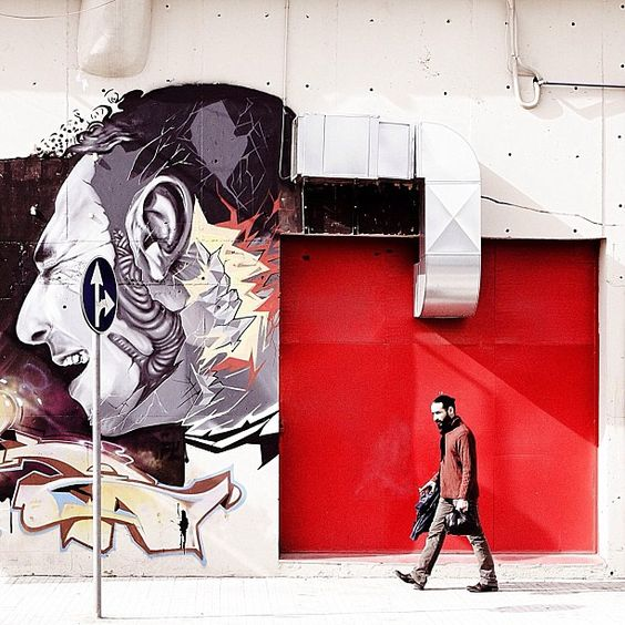 Street Art  Photo by serjios • Instagram