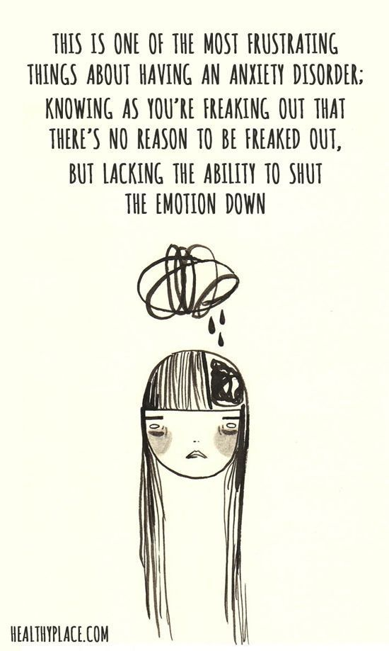 The Worst Feeling In The World Is Trying To Hold Back A Panic Attack