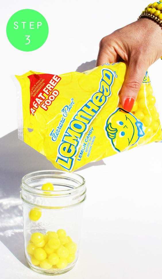 """Fashionably Bombed: DIY Tuesday: Lemonhead Infused Vodka! *This* is the way to """"cook""""."""