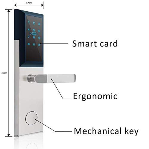 Check Out This Great Gadget For Your Home Keyless Entry Door Lock By Kutir Smart Rfid Digital Key Digital Door Lock Keyless Entry Door Locks Magnetic Card