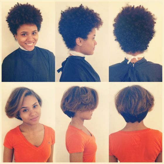 Image Result For Tapered Natural Hair Grow Out Stages Natural