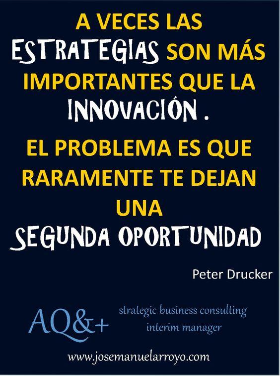 Estrategia. Innovación. Oportunidad.