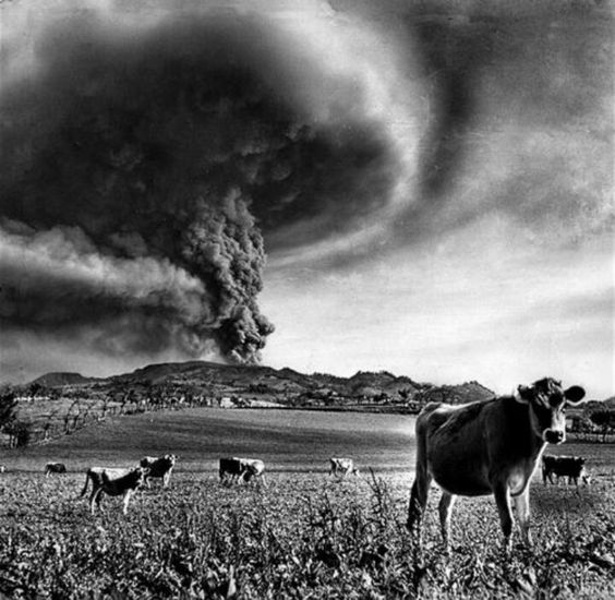Irazu Volcano Eruption in 1963