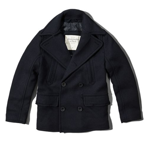 Mens North Notch Peacoat