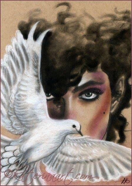 When doves cry Prince tribute Art by Katerina-Art.deviantart.com on @DeviantArt: