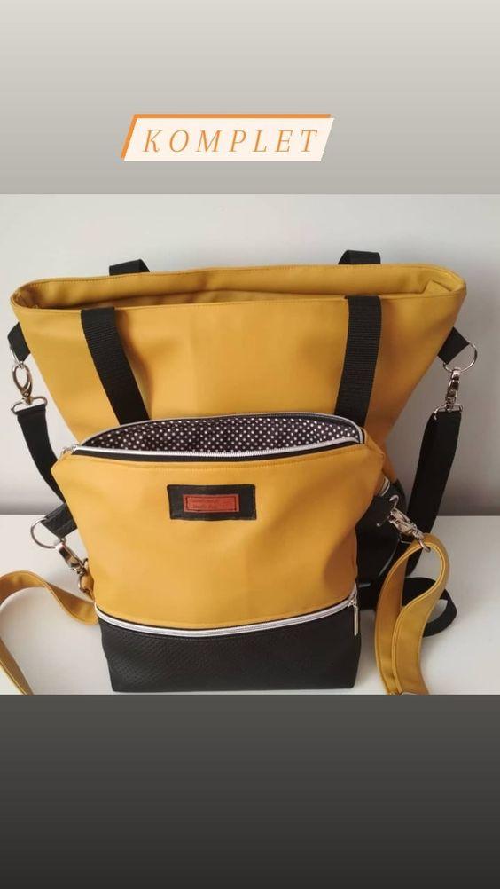 Torebka Mala I Duza Komplet In 2020 Bags Backpacks Fashion
