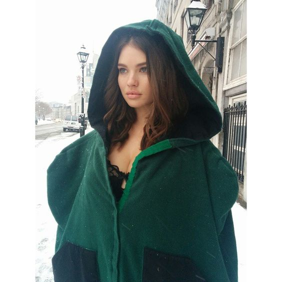 Shooting lingerie in a #montreal #blizzard and this thermal straight jacket is saving my life. @additionelle