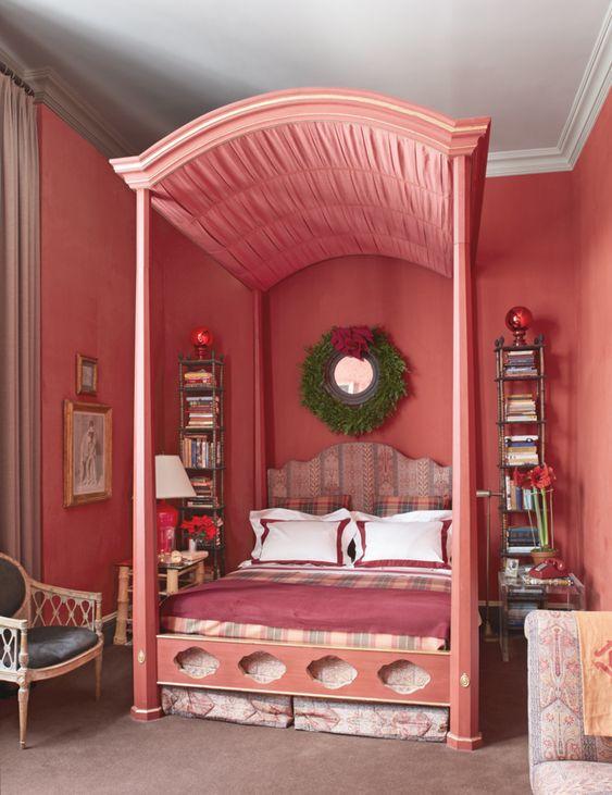 Kombinasi Warna Cat Kamar Pink Salem 2