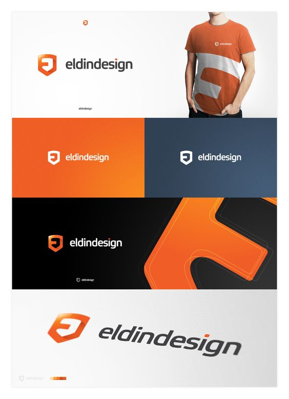 eldindesign final logotype by ~eLdIn94 on deviantART