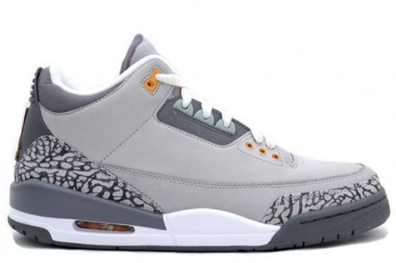 Air Jordan 3 cool grey. Only ones I would wear @ over 30 years of