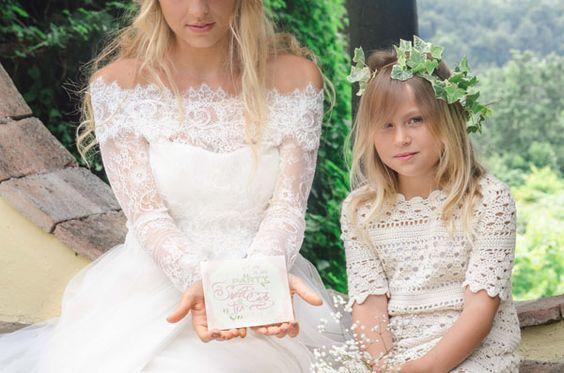 Inspiration shoot: Edera e rami di ulivo per un matrimonio country chic