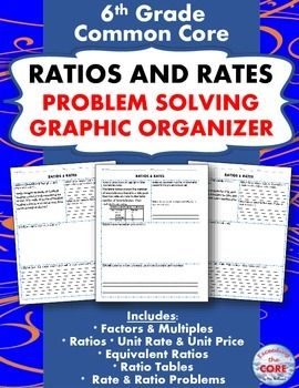 Equivalent Ratio Word Problems 6th Grade Worksheets - word ...