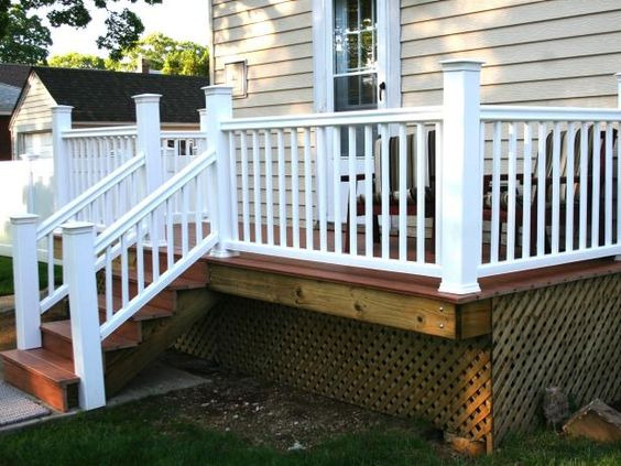 How to build a simple deck gardens decks and design for Basic deck building instructions