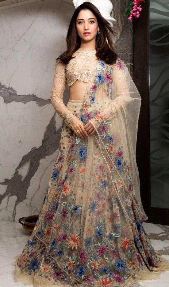 Tamanna Bhatia | Indian designer outfits, Wedding lehenga designs, Desi wedding dresses