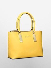 scarlett saffiano leather double zip carryall $179.50