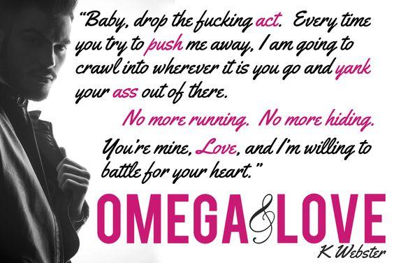Omega & Love (#2) Amazon: http://amzn.to/1OCnMJL Goodreads: http://bit.ly/1PDfS2z