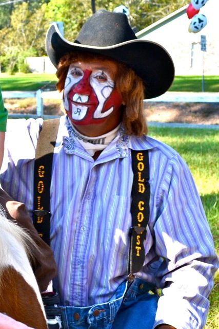 rodeo clown face painting ideas