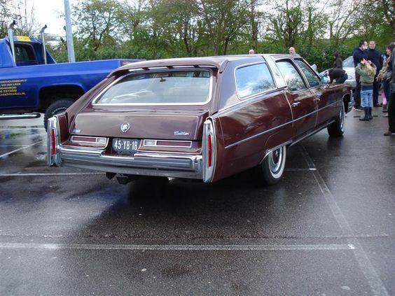 Cadillac Fleetwood station wagon - gotta love it.
