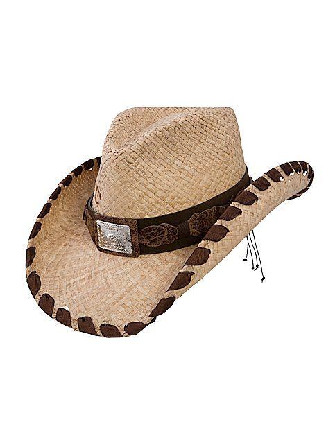 Charlie 1 Horse Straw RESTLESS GIRL CSRSGR4036-81 Natural, $65.00