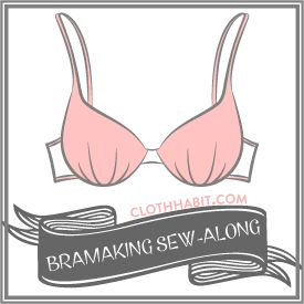 Brilliant step by step bra making tutorial, with advice about measuring, choosing a pattern, underwiring, materials and more!