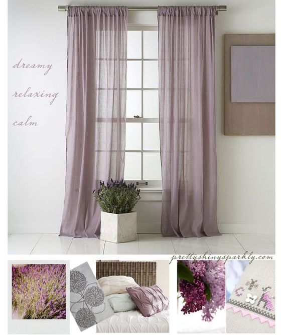 Hall And Bedroom Colours Bedroom Curtains Laura Ashley Pink And Black Bedroom One Bedroom Apartment Layout Design: Dreamy Lavender & Amethyst